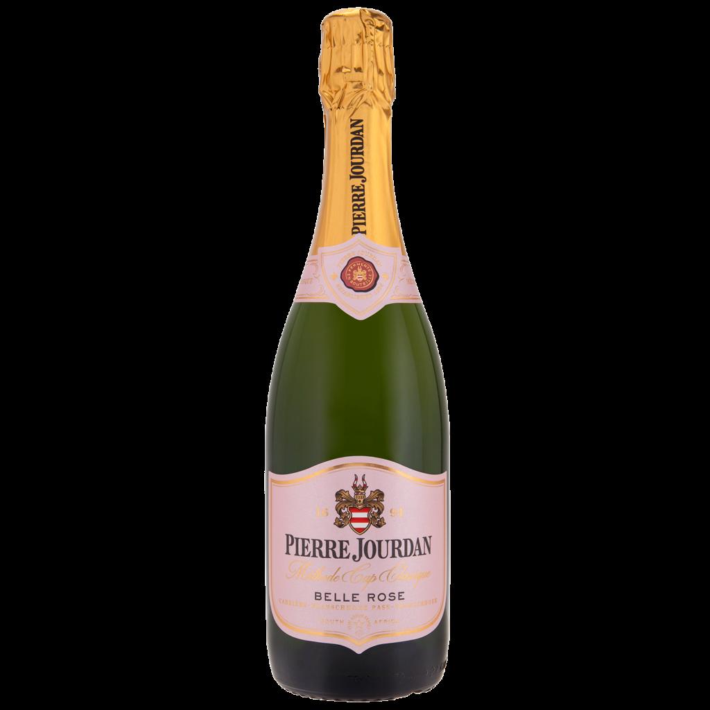 Haute Cabriere Pierre Jourdan Belle Rose Bottle