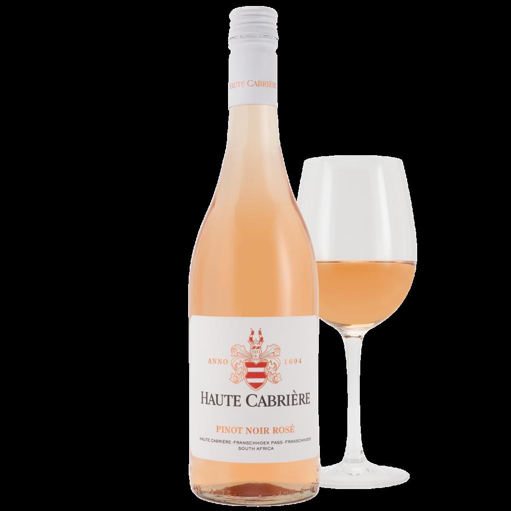 Haute Cabrière Pinot Noir Rose Glass