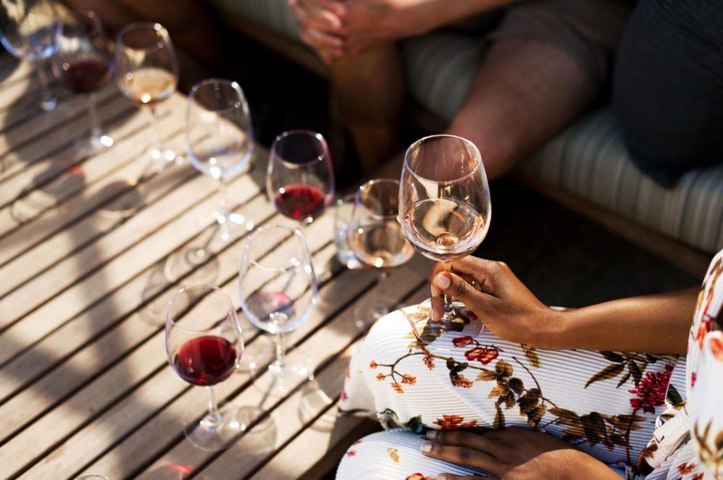 Haute Cabrière Wine Tasting