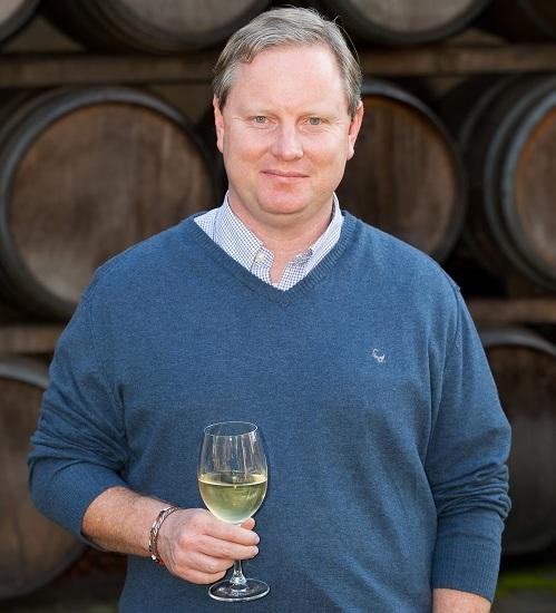 Kleine Zalze Winemaker Alastair Rimmer from Stellenbosch