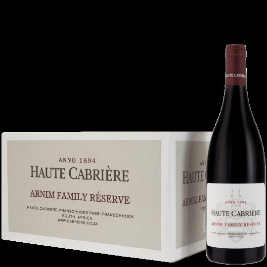 Haute Cabrière Arnim Family Reserve Franschhoek Wine Case