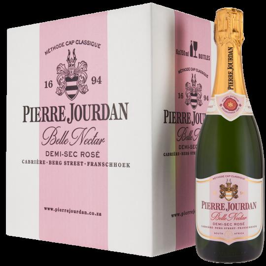 Haute Cabrière Pierre Jourdan Belle Nectar Cap Classique Franschhoek Champagne Case