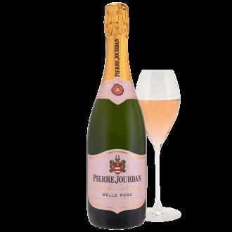 Haute Cabrière Pierre Jourdan Belle Rose Cap Classique Franschhoek Champagne Glass
