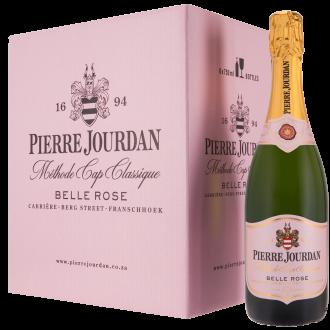 Haute Cabrière Pierre Jourdan Belle Rose Cap Classique Franschhoek Champagne Case