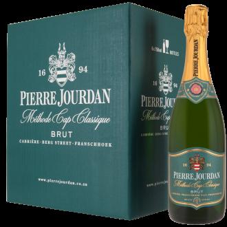 Haute Cabrière Pierre Jourdan Brut Cap Classique Franschhoek Case