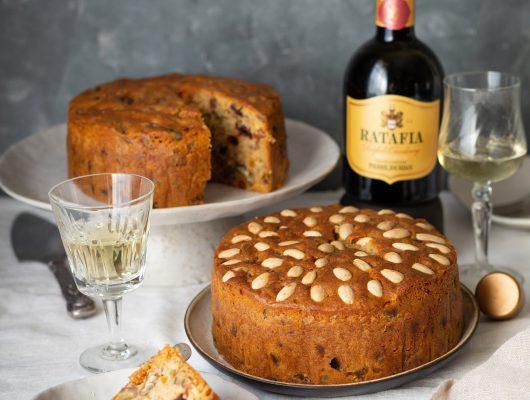 Haute Cabrière Ratafia Christmas Cake Recipe