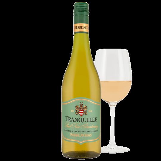 Haute Cabrière Pierre Jourdan Tranquille glass of wine