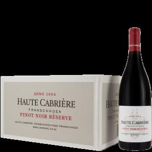 Haute Cabrière Pinot Noir Reserve Case