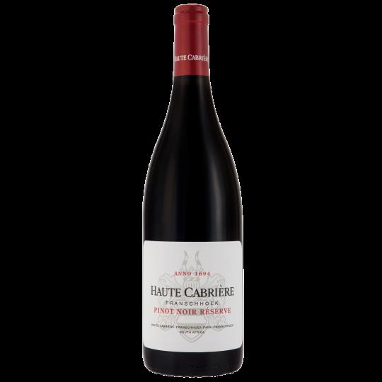 Haute Cabrière Pinot Noir Reserve