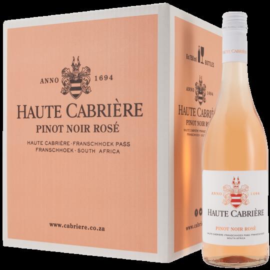 Haute Cabrière Pinot Noir Rose Case