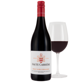 Haute Cabrière Pinot Noir Unwooded Glass