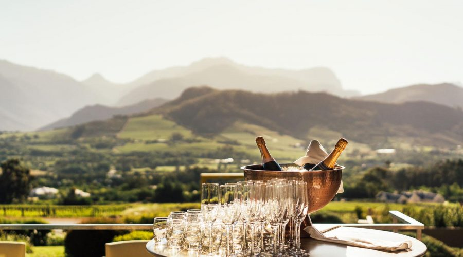 Haute Cabrière Wines in Franschhoek