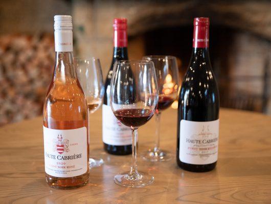 Haute Cabriere Pinot Noir wine tasting